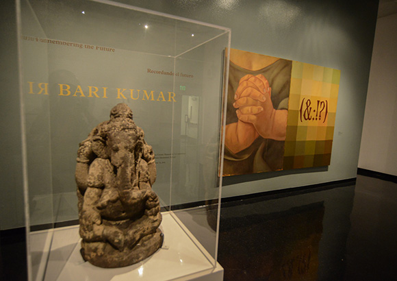 "Opening night of ""Bari Kumar: Remembering the Future"" | Photo: Shana Nys Dambrot"