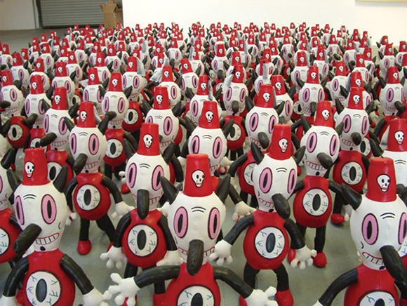 "200 Tobys at ""For the Love of Toby,"" Billy Shire Fine Arts, Los Angeles, 2005"