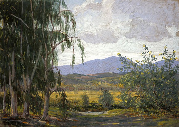 "John Baumgartner (1865-1946), ""Rancho Santa Margarita,"" 1925, 10 x 14 inches, Gouache, Private Collection 