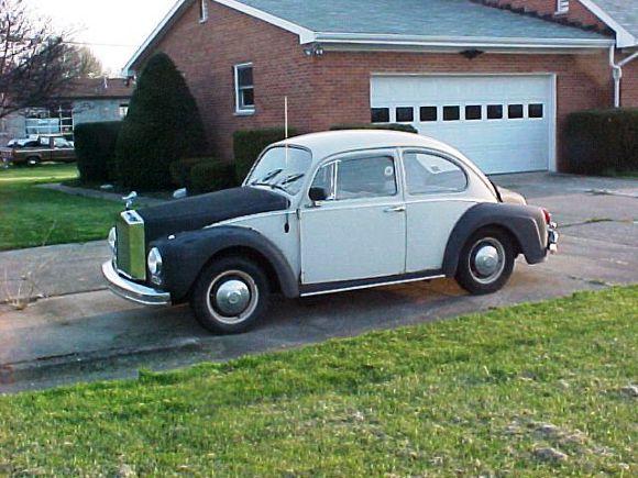 Rollysroyce 66 Beetle | Courtesy www.oldbug.com.