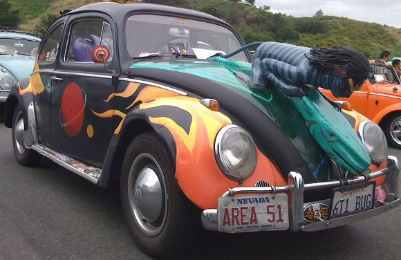Bug Art Volkswagen Beetles Get The Tricked Out Treatment Kcet
