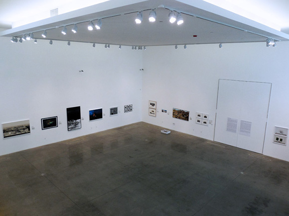 """Being Here and There"" installation shot at MOAH, 2014"