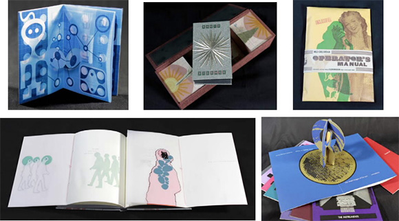 "Artwork from ""Binding Desire: Unfolding Artists Books."""