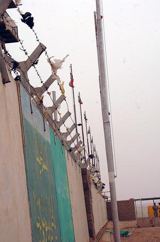 A wall along the Iran-Iraq border in Wasit Province. Image credit: cheeseitz87 via flickr.com.
