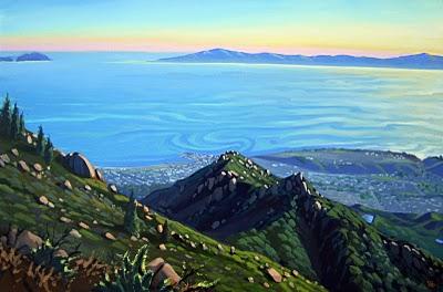 Lacumbre Peak. | Courtesy: Chris Potter.
