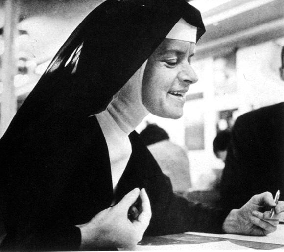 Corita, c. 1964. | Courtesy of the Corita Art Center, Los Angeles.