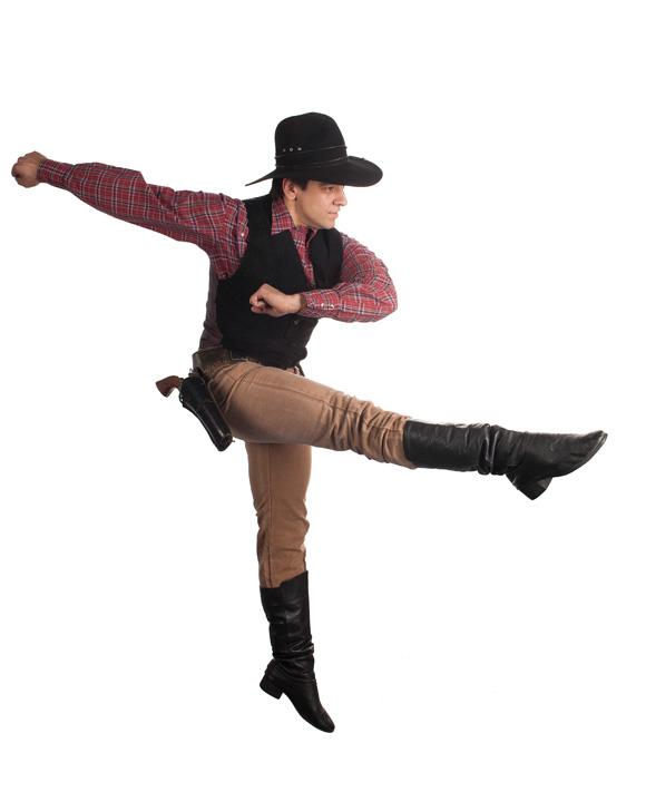 Cowboy   Photo: Pacific Ballet Dance Theatre.
