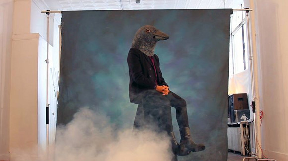 """Still from """"Crow Requiem"""" by Cauleen Smith, 2015. The work was part of short film program """"the way in which the past haunts the present,"""" curated by Erin Christovale and Jacqueline Stewart."""