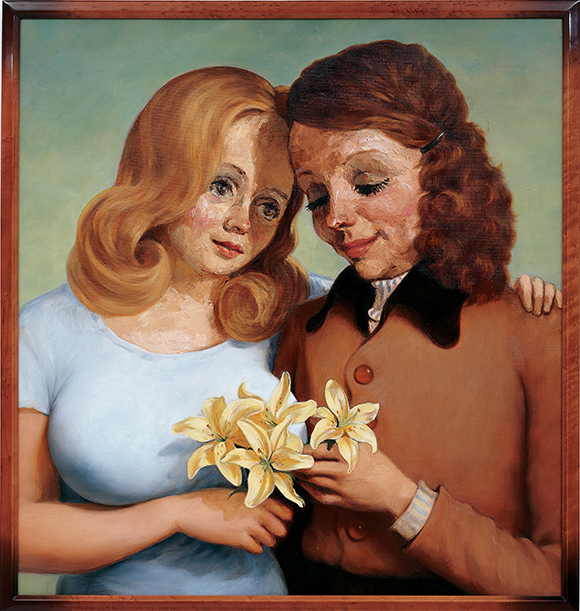 "John Currin, ""Daughter and Mother"""