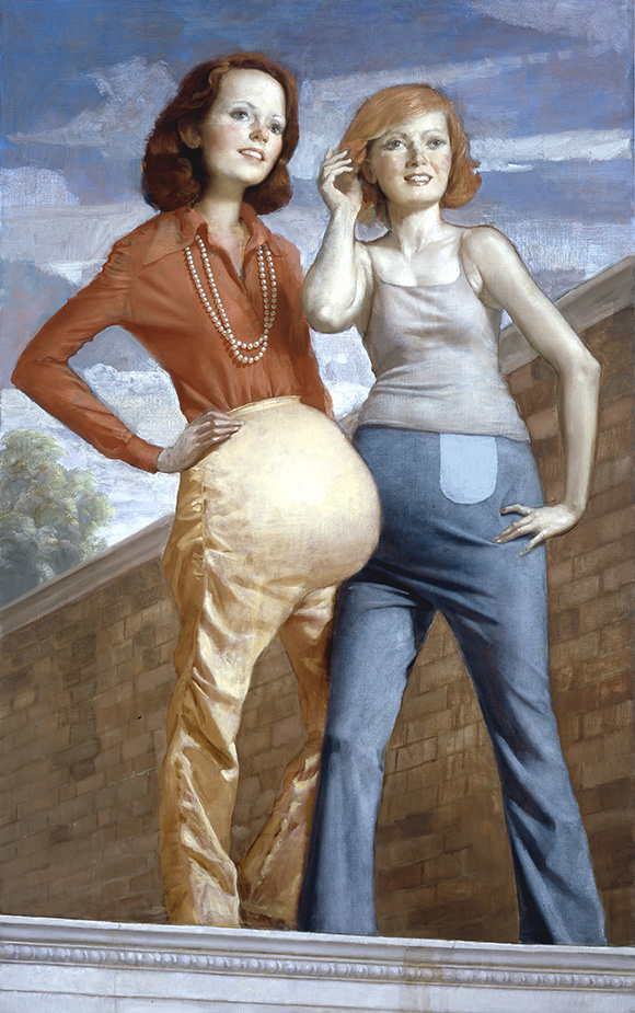 "John Currin, ""Patch and Pearl"""