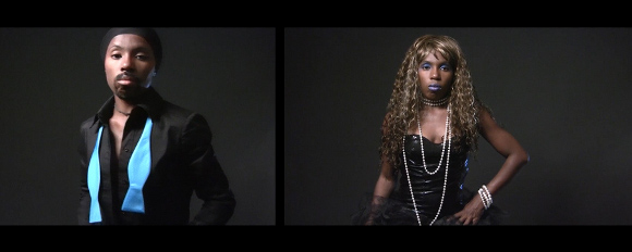 "D. Hill, ""TRANS"" film still, 2014-2015. 