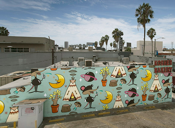 Dabs Myla mural | Courtesy of the Artists