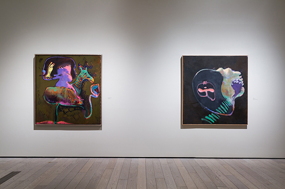 "Installation view, ""John Altoon,"" June 8, 2014-September 14, 2014, Los Angeles County Musuem of Art 