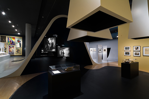 "Installation view, ""Haunted Screens: German Cinema in the 1920s,"" September 21, 2014-April 26, 2015, Los Angeles County Museum of Art 