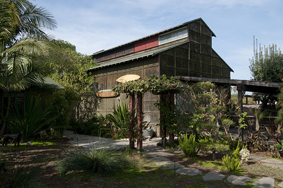 Ed Moses Studio | Photo: Larry Underhill.