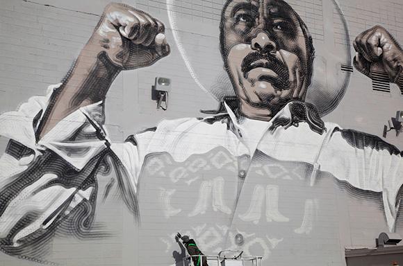 El Mac mural. | Photo: Vallarie and Arturo Enriquez.