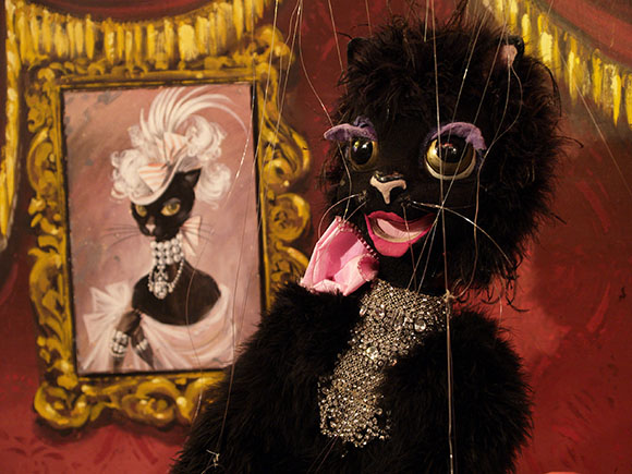 Fiesta Black Cat | Photo: Courtesy of The Bob Baker Marionette Theater.