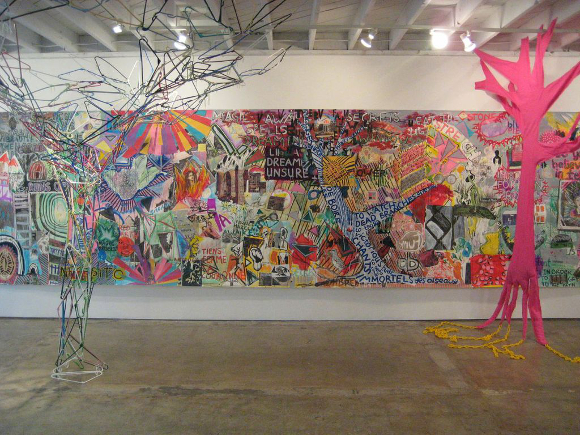 """Forêt Intérieure/Interior Forest"" at 18th Street Arts Center. 