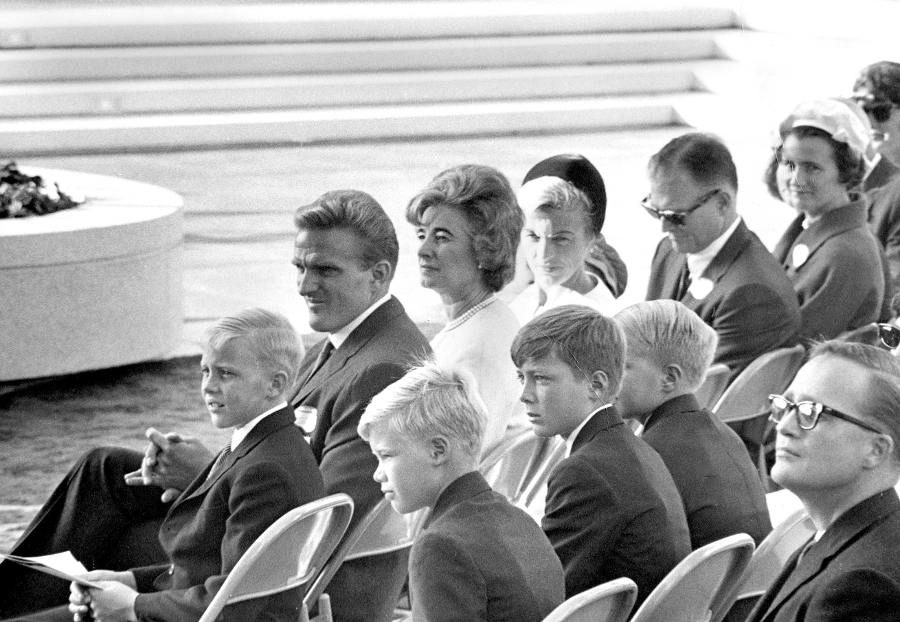 Attendees at the opening of the Music Center, 1964. | Photo: Courtesy of Harry B. Chandler.