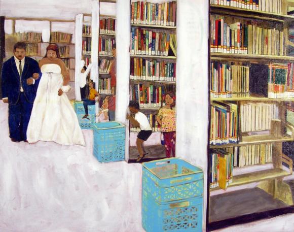 """Library Wedding"" by Katie Herzog."