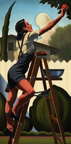 """The Ordinary Endeavor"" by Kenton Nelson. 