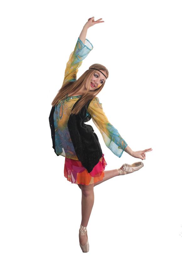 Hippie   Photo: Pacific Ballet Dance Theatre.