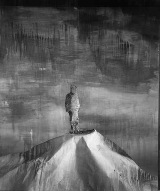Man on Hill, 89MHA1 1987-9, Internal Dye-diffusion Print, 20x24""
