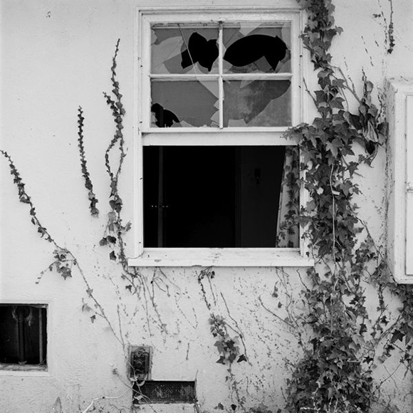 Forced Entry, Site 13, Exterior View A (1975), 20x16&qyot;, gelatin on silver print (printed in 1982)