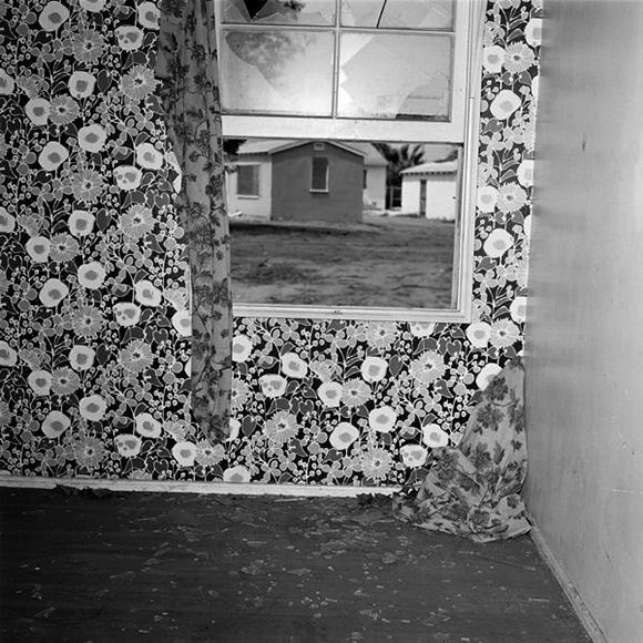 """Forced Entry, Site 13, Interior View B (1975), 20x16"""", gelatin silver print (printed 1982)"""