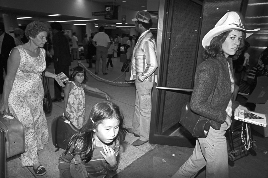 LAX in the 1980s. | Photo: John Brian King.