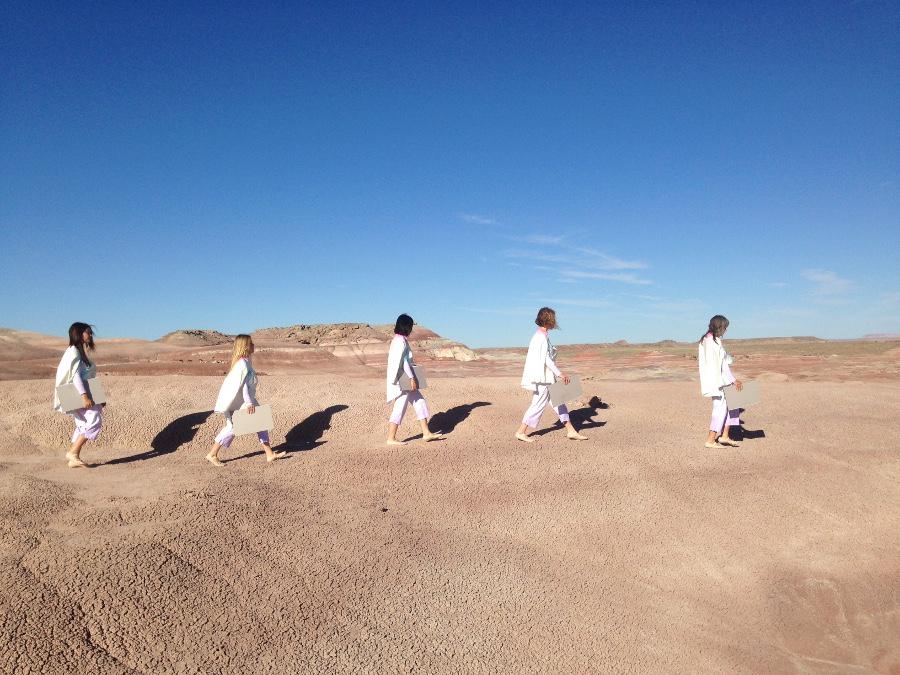 "Exit, ""Brainchild Part 3,"" MDRS, Southern Utah. | Photo: K. Johnson."
