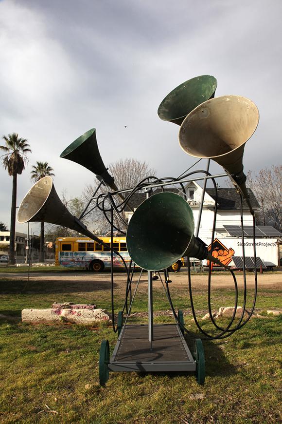 """Listening as (a) Movement"" | Photo: Jean-Paul Leonard."
