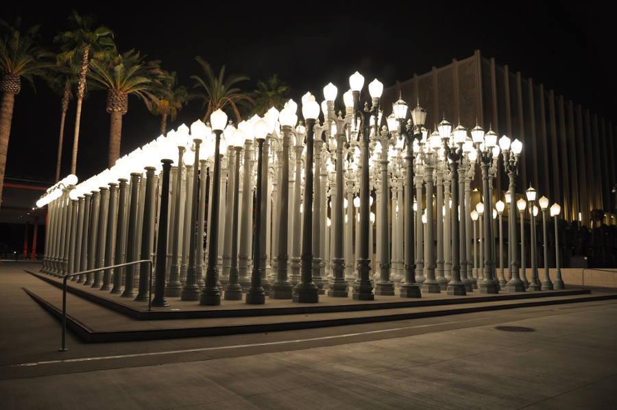 LACMA_Urban_Light_Chis_Burden_Wilshire