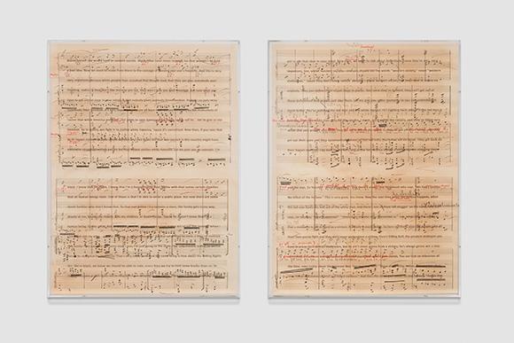 Charles Gaines: Librettos: Manuel de Falla/ Stokely Carmichael at Art + Practiceg