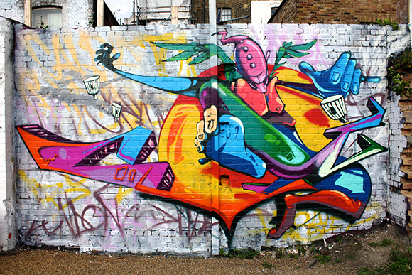 Man One Art at Shoreditch, London | Courtesy Man One