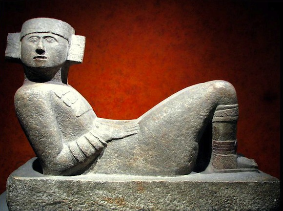 Mayan Chac Mool statue at the Museo Nacional de Antropología in Mexico City. | Photo: Luis Alberto Melograna.