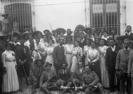 "Archival photograph, ""Madero in Iguala."" Courtesy of Special Collections and University Archives at Tomás Rivera Library, at the University of California, Riverside."