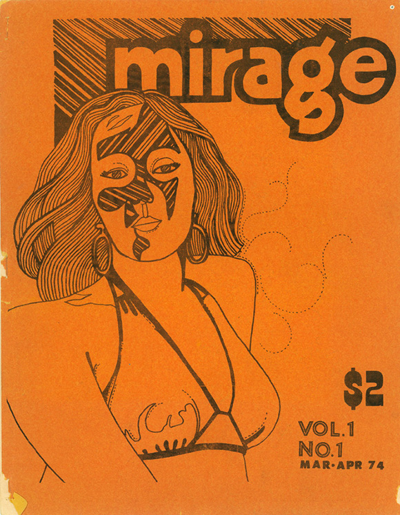 Mirage, Vol. 1, No. 1 (March-April 1974). A publication of the Transsexual Action Organization (TAO). | Courtesy ONE Archives at the USC Libraries.