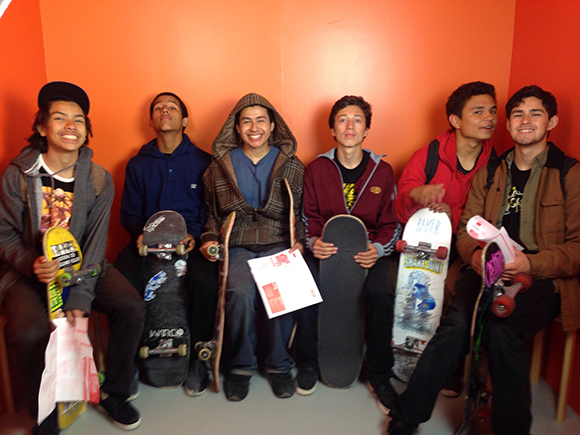 Montebello Skaters at Opening Night | Photo: Hanul Bahm