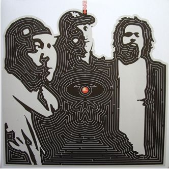 (Dilated Peoples, 'No Retreat' single, 2000. Design by Brent Rollins.)