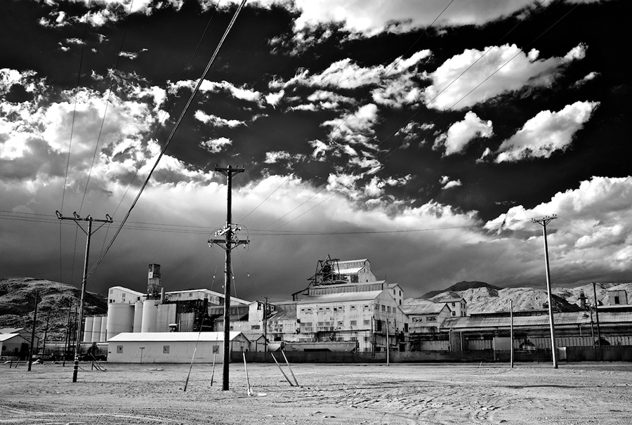 Searles Valley Minerals Plant, Infrared Exposure, Trona, CA, 2010 | Photo: Osceola Refetoff