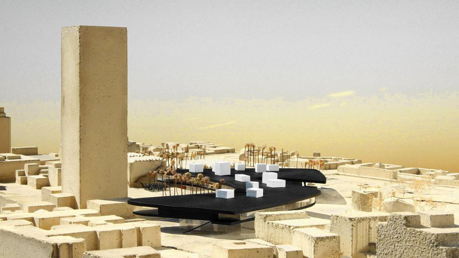An updated rendering of LACMA's future design by architect Peter Zumthor, 2015. The plan for the museum has seen many revisions. | Image: Atelier Peter Zumthor & Partner.