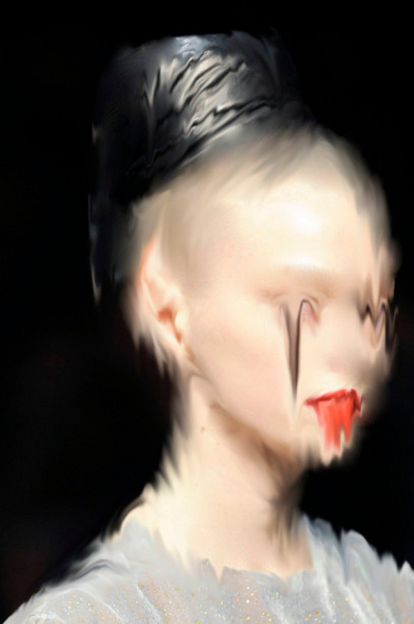 """Petra Cortright, from """"Poor Traits II"""" series, 2009."""
