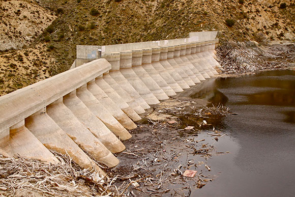 Littlerock Dam and Reservoir | Photo: Jenny Kane