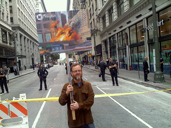 Protest, Mayday 2012.
