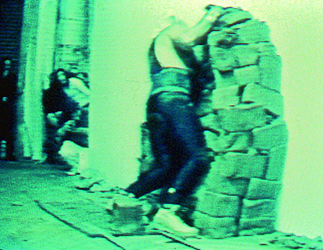 """Punishment"" performance by Martin Durazo at POST, 1996."