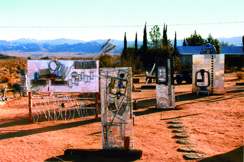 """Sculpture Garden."" 