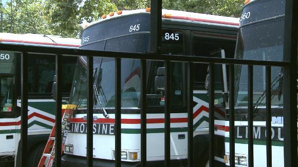 Los Angeles bus terminal of El Paso Los Angeles Limousine Express, Inc.