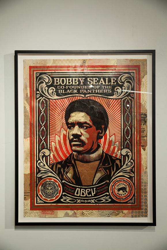 """Bobby Seale"" by Shepard Fairey 
