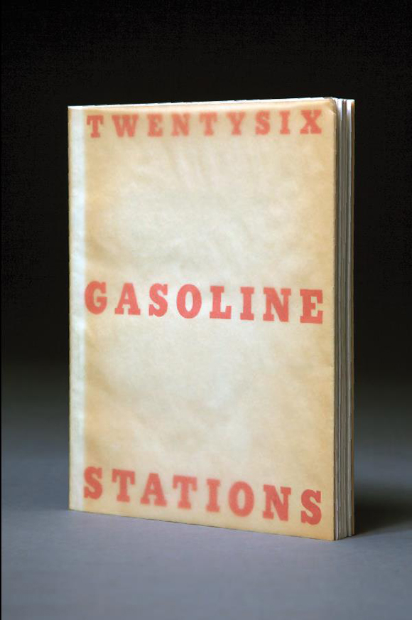 "First edition copy of Ruscha's ""Twentysix Gasoline Stations, (self-published),"" 1962.  